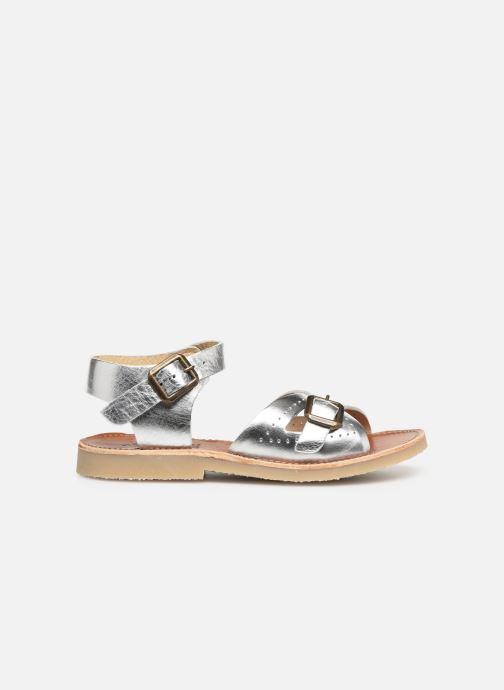 Sandales et nu-pieds Young Soles Pearl Argent vue derrière