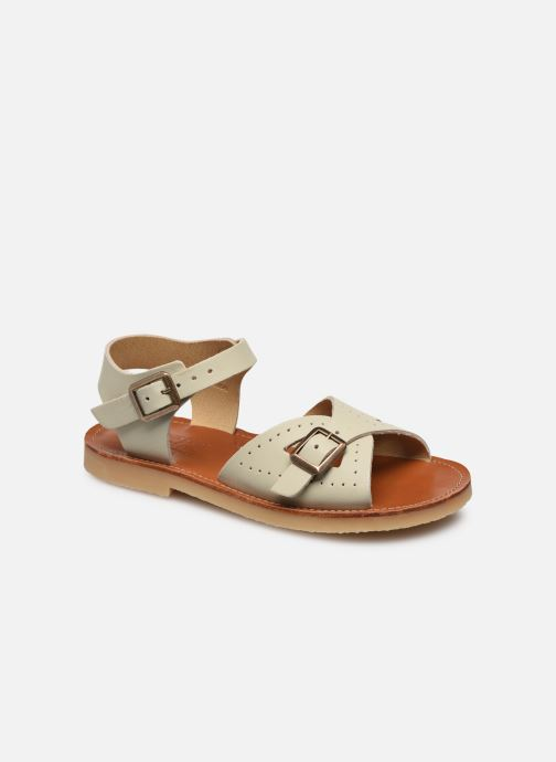 Sandalen Young Soles Pearl Wit detail