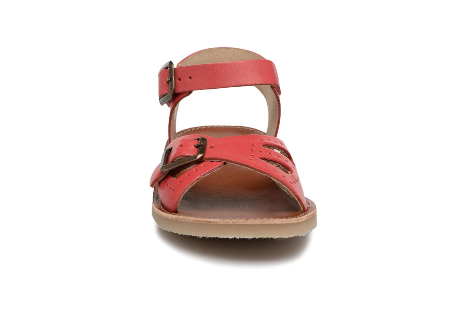 Sandalen Young Soles Pearl Rood model