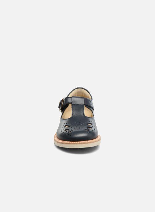 Sandales et nu-pieds Young Soles Rosie Bleu vue portées chaussures
