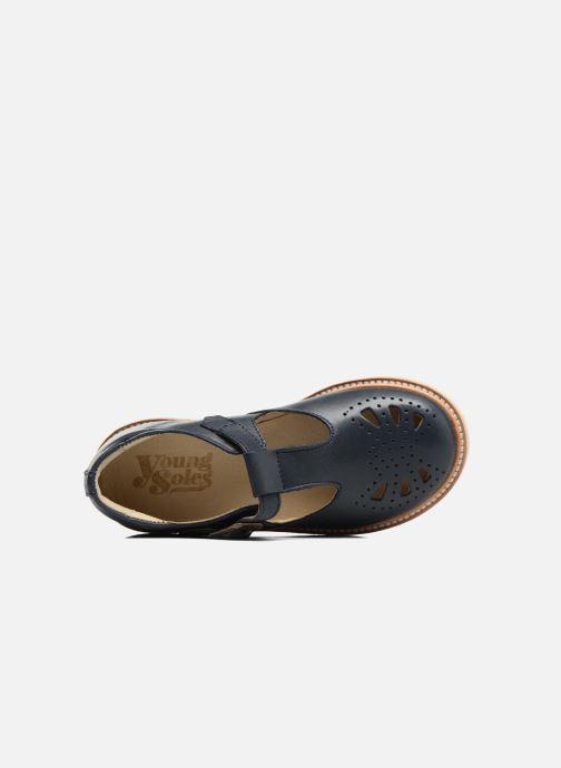 Sandales et nu-pieds Young Soles Rosie Bleu vue gauche