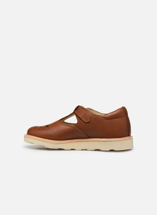 Sandales et nu-pieds Young Soles Rosie Marron vue face