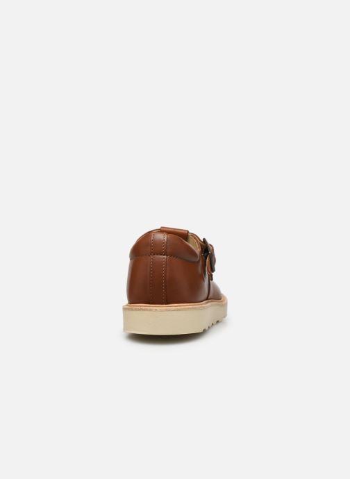Sandales et nu-pieds Young Soles Rosie Marron vue droite