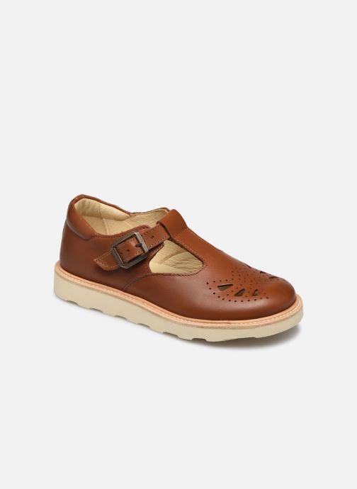 Sandales et nu-pieds Young Soles Rosie Marron vue détail/paire