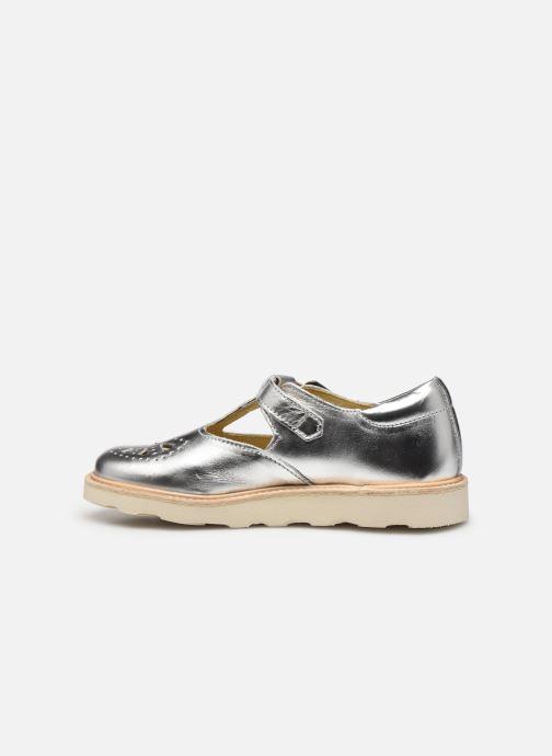 Sandales et nu-pieds Young Soles Rosie Argent vue face