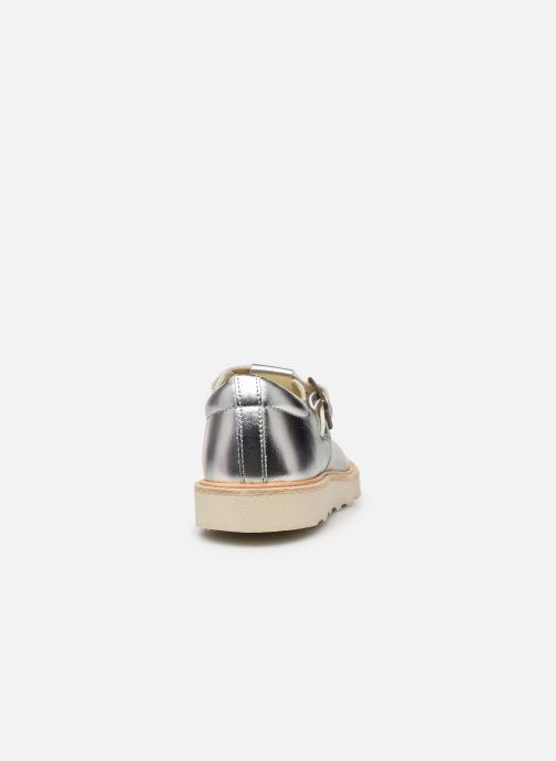 Sandales et nu-pieds Young Soles Rosie Argent vue droite