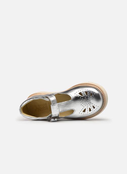 Sandales et nu-pieds Young Soles Rosie Argent vue gauche