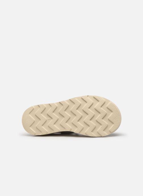 Sandales et nu-pieds Young Soles Rosie Argent vue haut