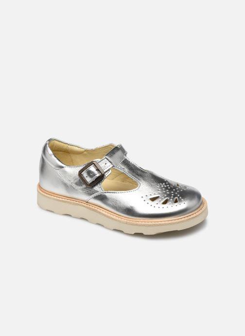 Sandales et nu-pieds Young Soles Rosie Argent vue détail/paire