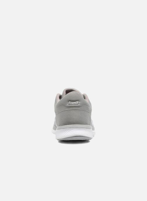 Chaussures de sport Asics Fuzex Rush W Gris vue droite