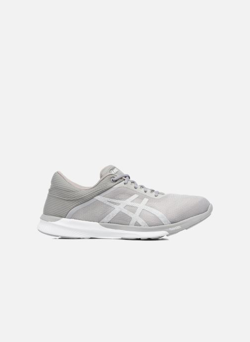 Sport shoes Asics Fuzex Rush W Grey back view