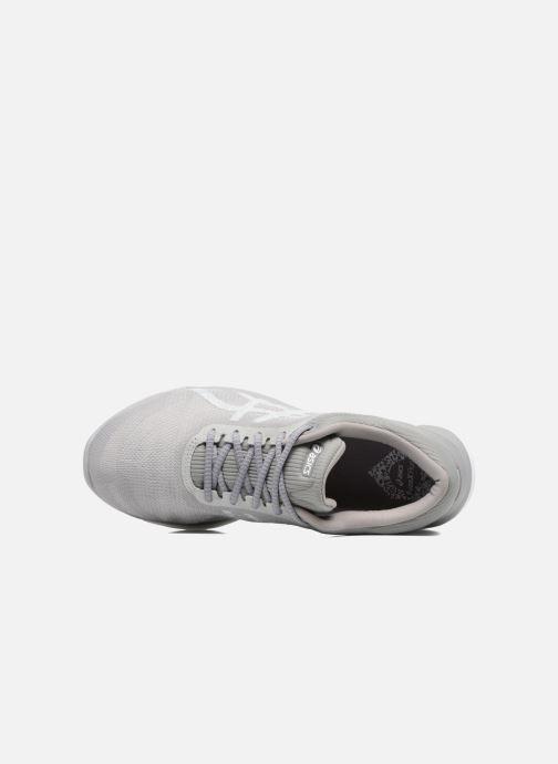 Chaussures de sport Asics Fuzex Rush W Gris vue gauche