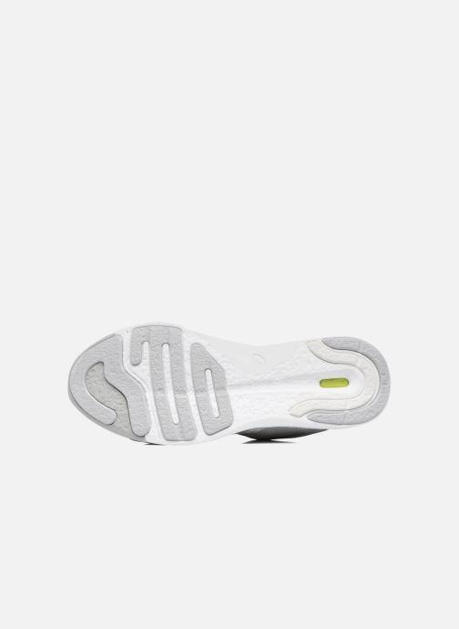 Chaussures de sport Asics Fuzex Rush W Gris vue haut