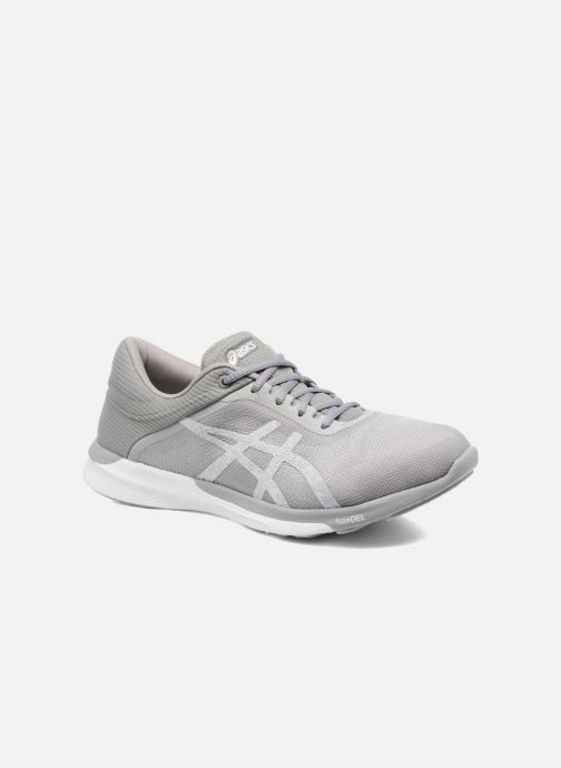 Sport shoes Asics Fuzex Rush W Grey detailed view/ Pair view