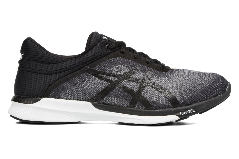 Chaussures de sport Asics Fuzex Rush W Noir vue derrière