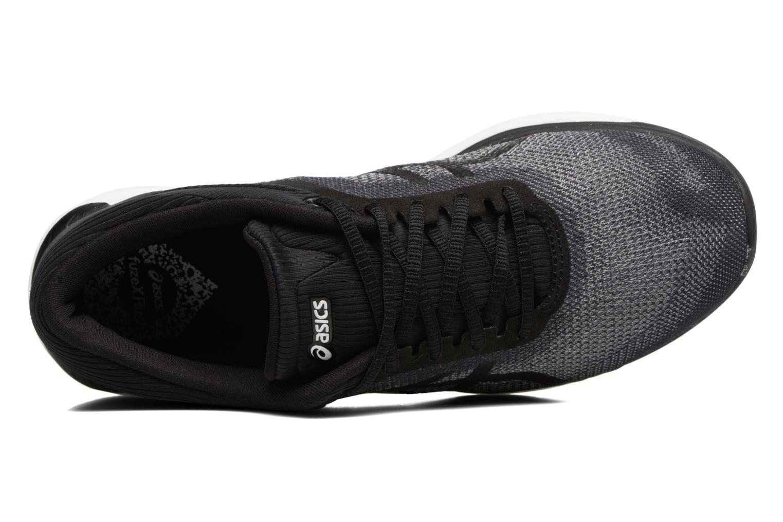 Chaussures de sport Asics Fuzex Rush W Noir vue gauche