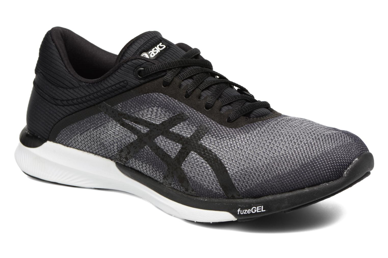Chaussures de sport Asics Fuzex Rush W Noir vue détail/paire