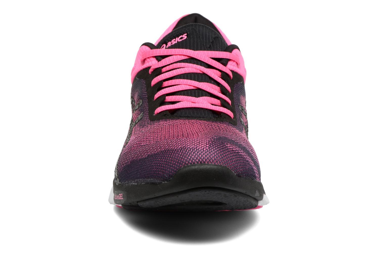 Chaussures de sport Asics Fuzex Rush W Rose vue portées chaussures