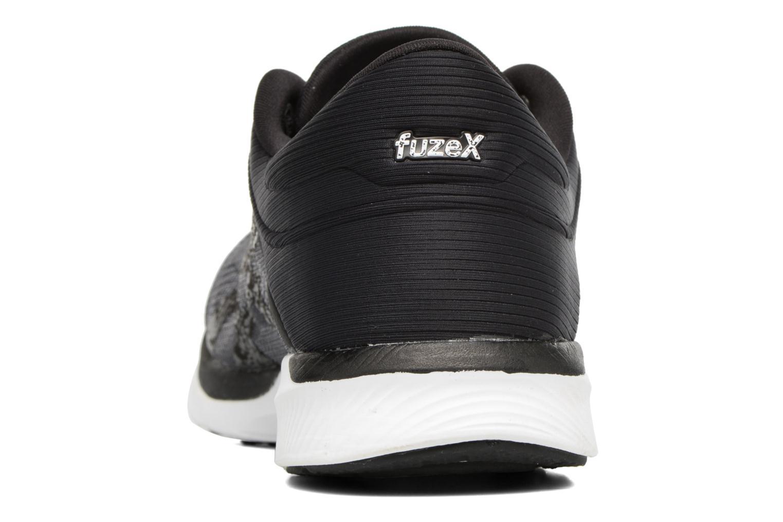 Chaussures de sport Asics Fuzex Rush Noir vue droite
