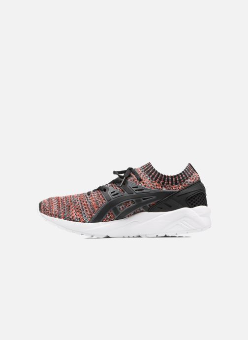 Baskets Asics Gel Kayano Trainer Knit Noir vue face
