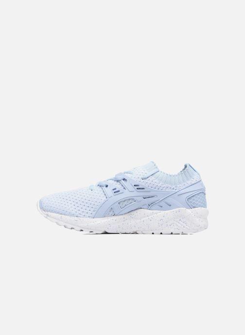 Sneakers Asics Gel Kayano Trainer Knit W Blauw voorkant