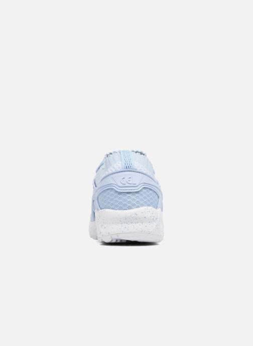 Baskets Asics Gel Kayano Trainer Knit W Bleu vue droite