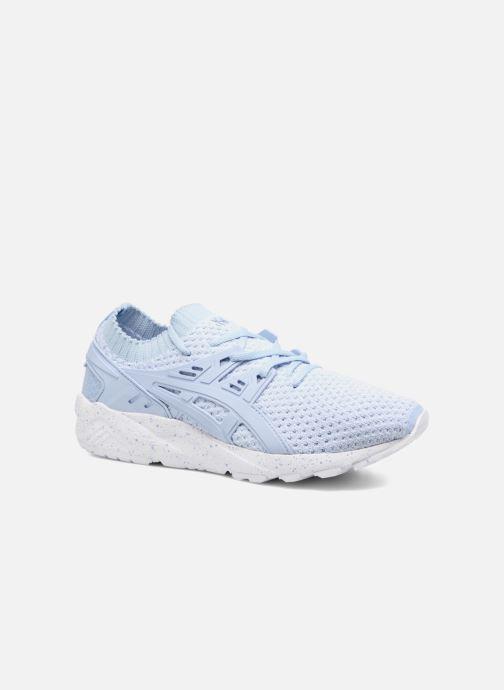 Sneakers Asics Gel Kayano Trainer Knit W Blauw detail