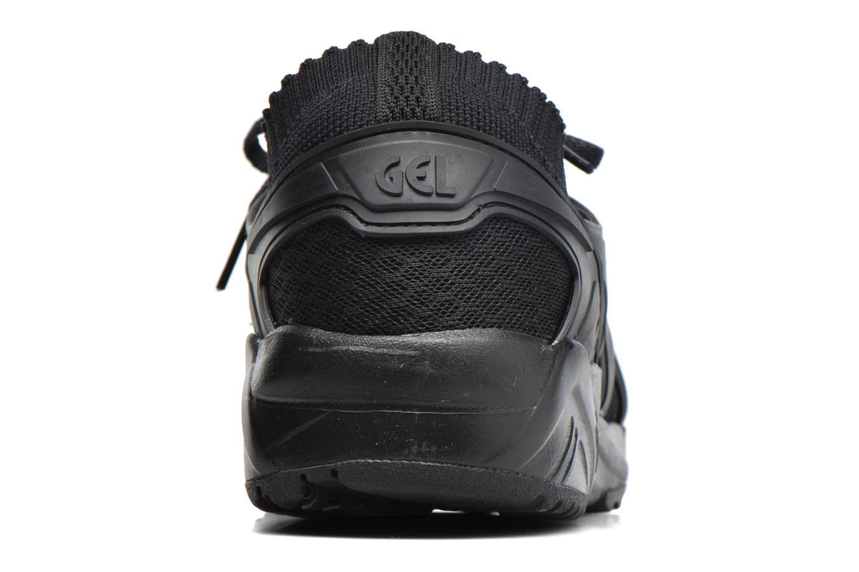 Baskets Asics Gel Kayano Trainer Knit W Noir vue droite