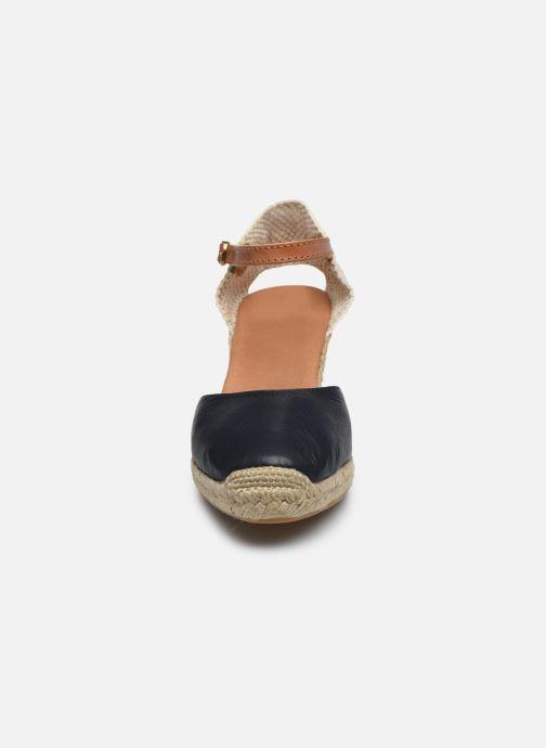 Espadrilles Maypol Nantes Bleu vue portées chaussures
