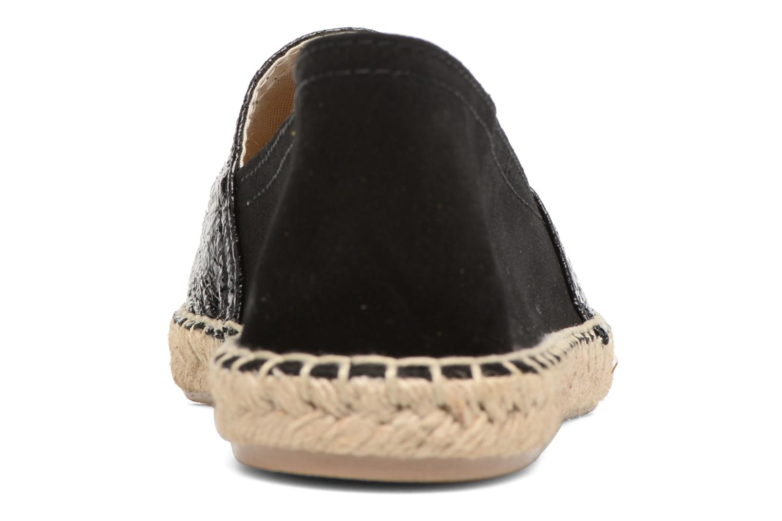 Espadrilles Maypol Selena 2 Black view from the right