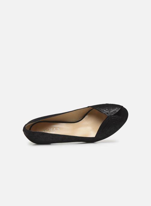 Zapatos de tacón Jonak Depois Negro vista lateral izquierda