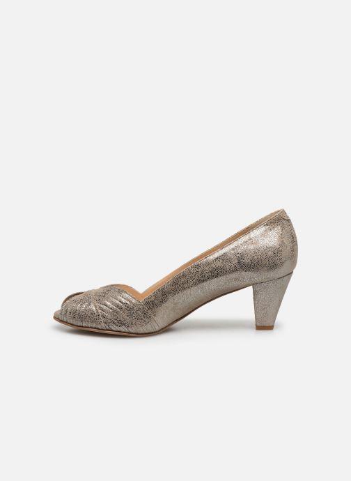 Zapatos de tacón Jonak Depois Oro y bronce vista de frente