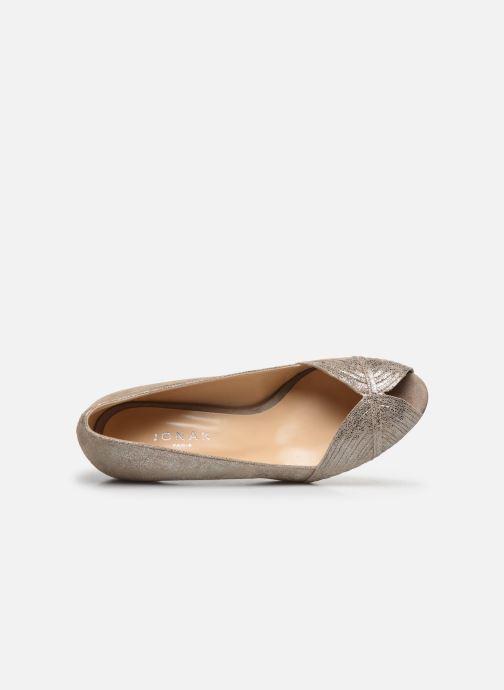 Zapatos de tacón Jonak Depois Oro y bronce vista lateral izquierda