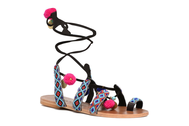 Sandales pieds chez nu Sarenza et Jonak JALO 292758 Multicolore EwqR6F
