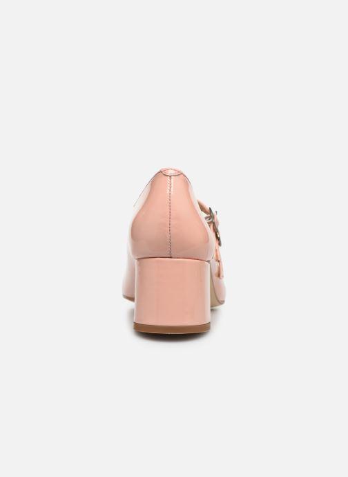 Zapatos de tacón Jonak Aliette Rosa vista lateral derecha