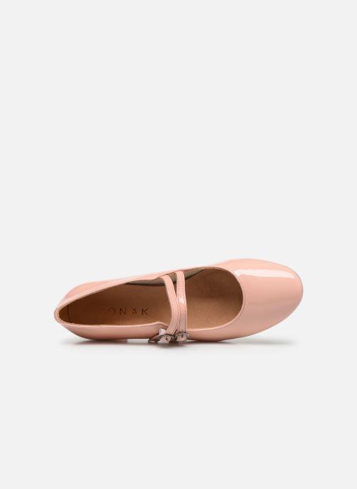 Zapatos de tacón Jonak Aliette Rosa vista lateral izquierda