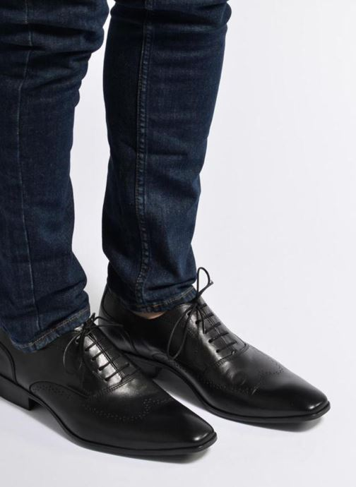 Lace-up shoes Marvin&co Romford Blue view from underneath / model view