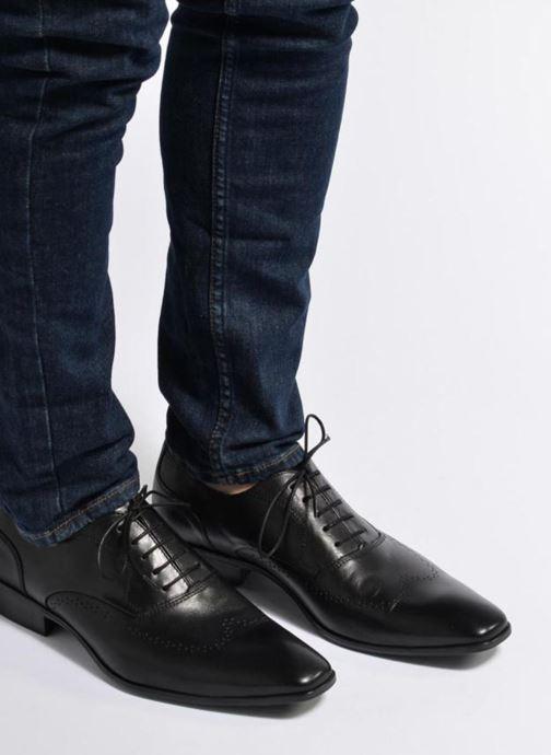 Scarpe con lacci Marvin&Co Romford Azzurro immagine dal basso