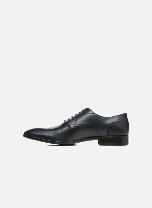 Zapatos con cordones Marvin&Co Romford Azul vista de frente