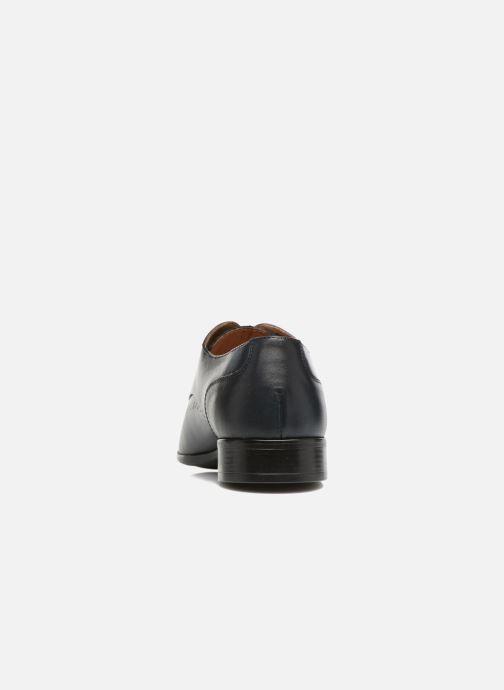Zapatos con cordones Marvin&Co Romford Azul vista lateral derecha