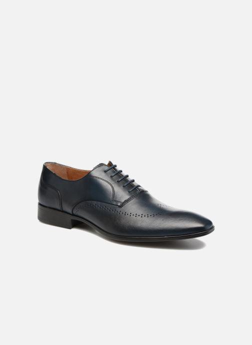 Chaussures à lacets Marvin&Co Romford Bleu vue détail/paire