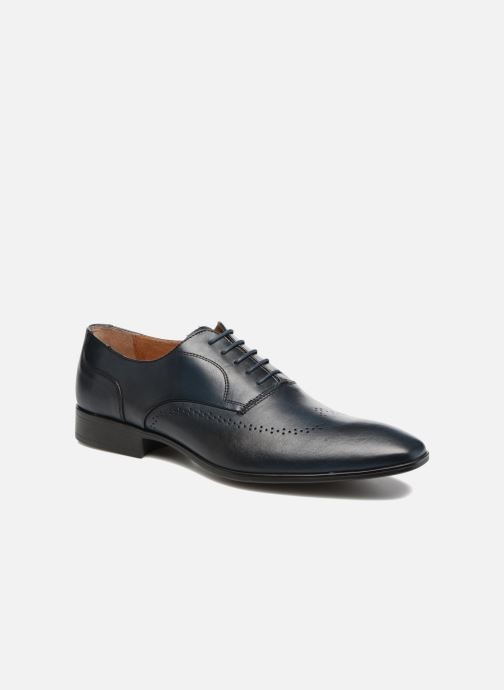 Lace-up shoes Marvin&co Romford Blue detailed view/ Pair view