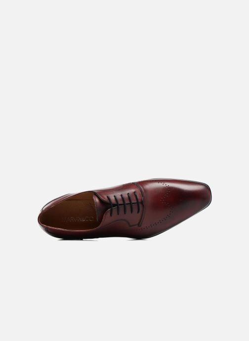 Scarpe con lacci Marvin&Co Romford Bordò immagine sinistra