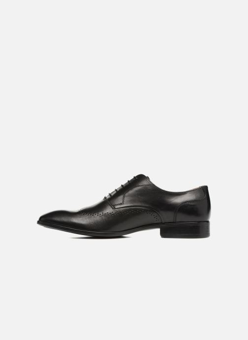 Lace-up shoes Marvin&co Romford Black front view