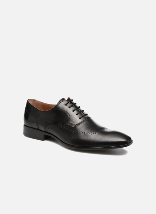 Lace-up shoes Marvin&co Romford Black detailed view/ Pair view