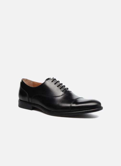 Lace-up shoes Marvin&co Richmond Black detailed view/ Pair view