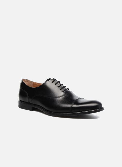 Zapatos con cordones Marvin&Co Richmond Negro vista de detalle / par