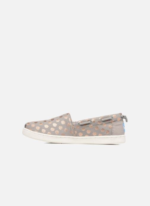 Trainers TOMS Bimini Espadrille E Grey front view