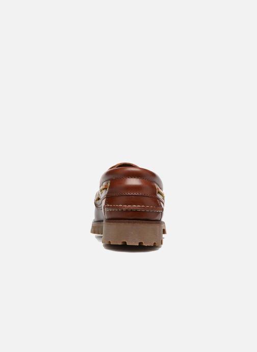 Schnürschuhe Marvin&Co Smount braun ansicht von rechts
