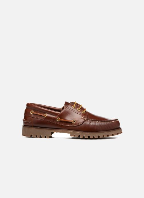 Lace-up shoes Marvin&co Smount Brown back view